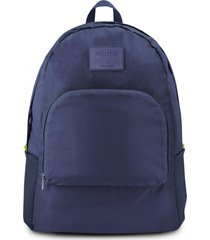 mochila dobrável jacki design viagem azul escuro