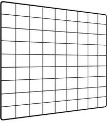 memory board quadro de fotos preto - 45cm x 45cm + 6 mini prendedores - preto - dafiti