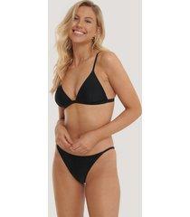na-kd swimwear bikinitrosor med tunna band - black