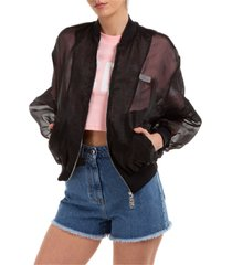 gcds baby bear crop jacket