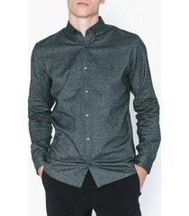 premium by jack & jones jprlogo twist shirt l/s sts skjortor mörk grön