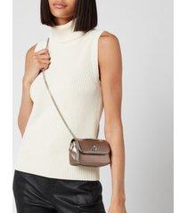 vivienne westwood women's emma small purse with chain - gunmetal
