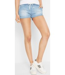 stretch jeans short