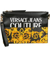 versace jeans couture couture clutch
