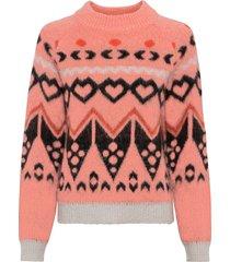 maglione norvegese (rosa) - rainbow