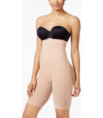 leonisa women's light tummy-control high-waist thigh-slimmer 012807m