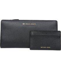 michael michael kors jet set thin wallet