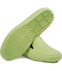 mocasin stretch unisex reciclable vegano verde pistacho
