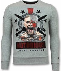 sweater local fanatic notorious trui - mcgregor warrior sweater -