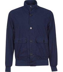 aspesi cargo pocket buttoned jacket
