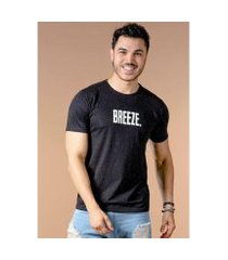 camiseta manga curta breeze figha masculina