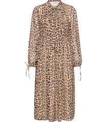 day birger et mikkelsen x boozt day protect leo dresses everyday dresses creme day birger et mikkelsen