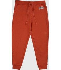 pantalón naranja gap