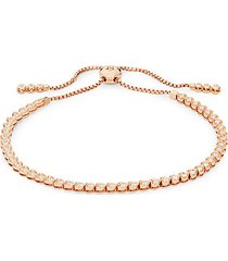 14k rose gold & white diamond bracelet