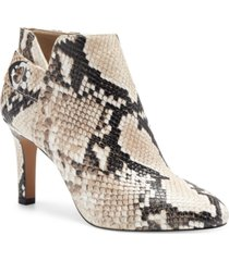 vince camuto women's lexica buckle dress booties women's shoes