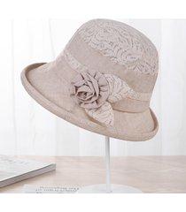 nuevas mujeres de encaje de verano sombreros para el sol madre sol