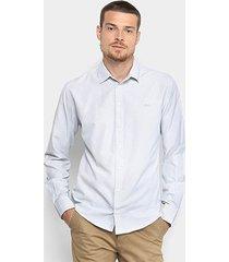 camisa colcci slim masculina