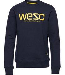 wesc sweatshirt sweat-shirt tröja blå wesc