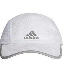 gorra blanca adidas running