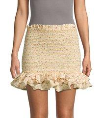 barrett ruffle skirt
