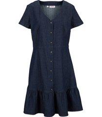 abito di jeans a maniche corte (blu) - john baner jeanswear