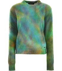dsquared2 tie dye pullover