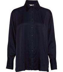 costume x inwear shirt overhemd met lange mouwen blauw inwear