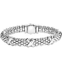 women's lagos 'signature caviar' oval rope bracelet