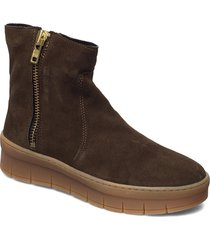 dakota wool shoes boots ankle boots ankle boot - flat grön pavement
