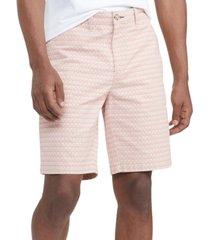 "tommy hilfiger men's th flex stretch flamingo critter-print 9"" shorts"