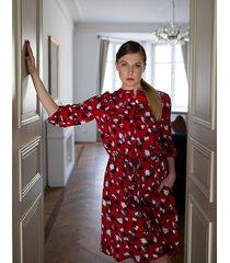 sukienka deep red