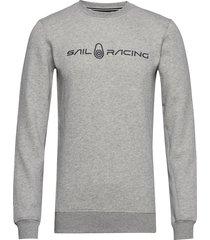 bowman sweater sweat-shirt trui grijs sail racing