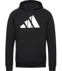 m fi hood hoodie trui zwart adidas performance
