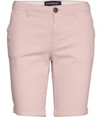 city chino short bermudashorts shorts rosa superdry