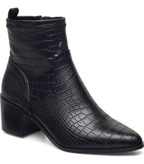 biaabbie boot shoes boots ankle boots ankle boot - heel svart bianco
