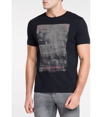 camiseta ckj mc est urbancity scape nyc - preto - pp