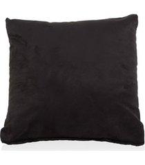 almofada em suede toscana 45x45cm preto