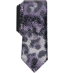 inc men's leopard sequin tie, created for macy's