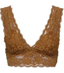 bra iris lace bralette lingerie bras & tops padded bras brun lindex