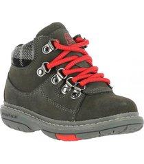 botin cuero alpine boot gris hush puppies
