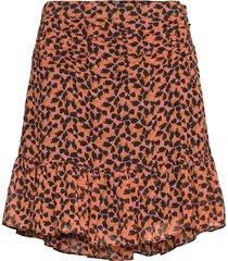 hilma skirt kort kjol brun second female