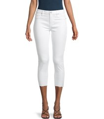articles of society women's katie raw-hem cropped skinny jeans - manchester - size 25 (2)