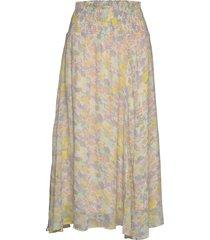 haydeniw midi skirt lång kjol multi/mönstrad inwear