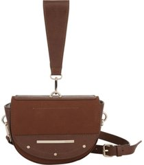kensie women's half moon crossbody bag