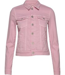denim jacket, button closure, garme jeansjack denimjack roze marc o'polo