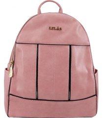 mochila anael rosado lilas carteras