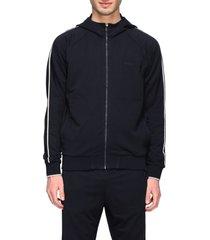z zegna sweatshirt z zegna sweatshirt with hood and zip