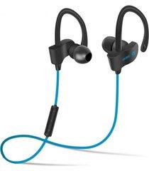 audífonos bluetooth deportivos, s4 auriculares in-ear audifonos bluetooth manos libres  inalámbrico para correr (azul)