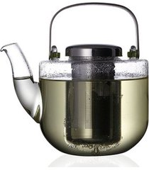 bule para chá em vidro com infusor bjorn 650ml viva scandinavia