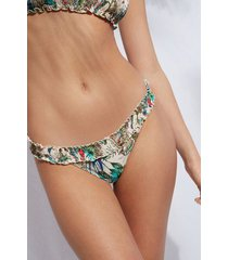 calzedonia brazilian swimsuit bottom copacabana woman multicolor size 3